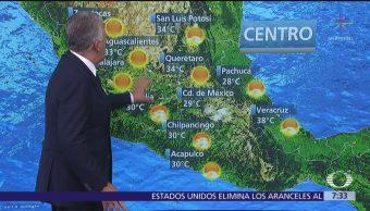 Despierta con Tiempo: Temperaturas de hasta 40 grados en el norte