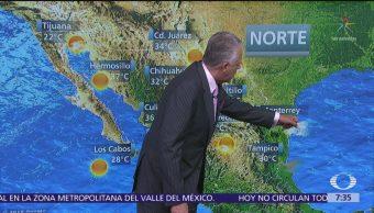 Despierta con Tiempo: Tormentas fuertes con granizo en México