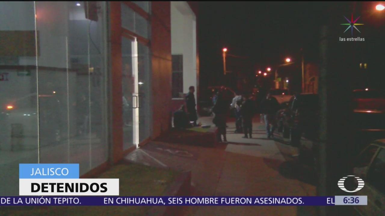 Detienen a dos presuntos responsables de matar a policías en Jalisco