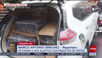 Foto: Detienen Narcomenudista Paquetes Droga CDMX Camioneta 17 Mayo 2019