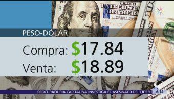 El dólar se vende en $18.89