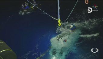 Foto: Explorador Victor Vescobo Récord Expedición Submarina 13 de Mayo 2019