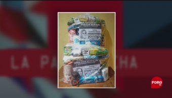 Foto: Elecciones Entrega Apoyos Despensas Noticias Falsas 15 de Mayo 2019