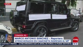 Foto: Empresario Escolta Atrincherados Encerrados Camioneta Blindada CDMX 17 Mayo 2019