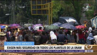 Estudiantes del CCH planean marcha a Rectoría UNAM por seguridad