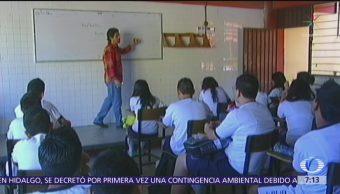 Estudio revela desvío de recursos de la nómina educativa en México