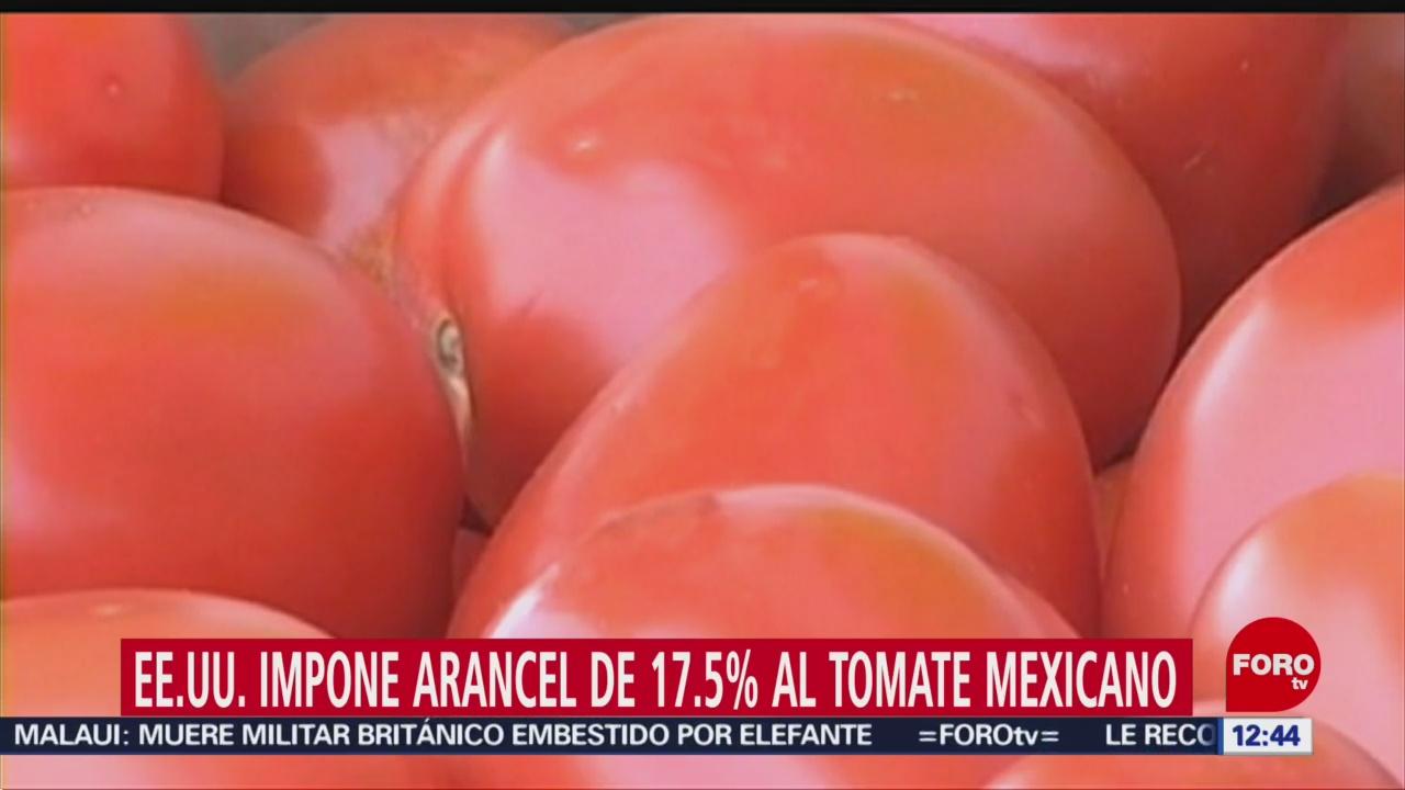EU impone arancel de 17.5% al tomate mexicano