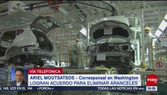 FOTO: EU, México y Canadá logran acuerdo para eliminar aranceles, 18 MAYO 2019