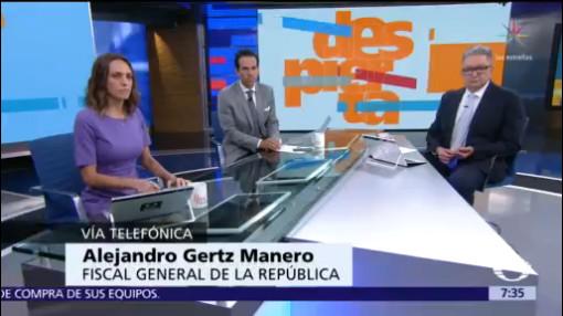 Expediente contra Emilio Lozoya está sólido: Gertz Manero