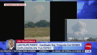 FOTO: Explosión de pirotecnia en Tultepec deja un muerto, 11 MAYO 2019