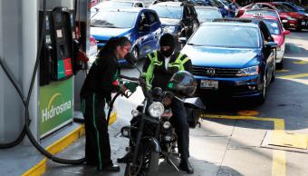 Foto: Gasolinera en la Ciudad de México, 9 de enero de 2019, México