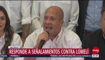 Foto: Gobernador Jalisco Señalamientos Carlos Lomelí 20 Mayo 2019