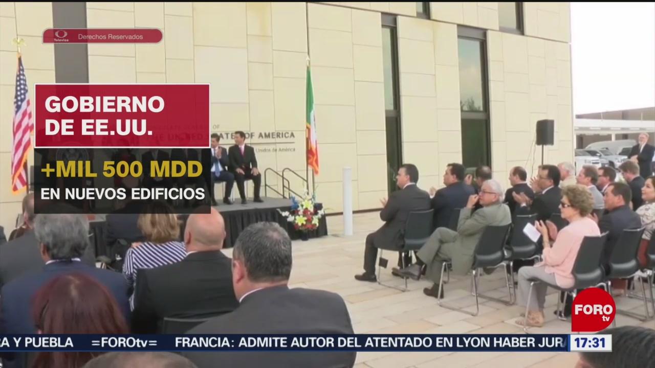 FOTO: Gobierno estadounidense renueva consulados en México