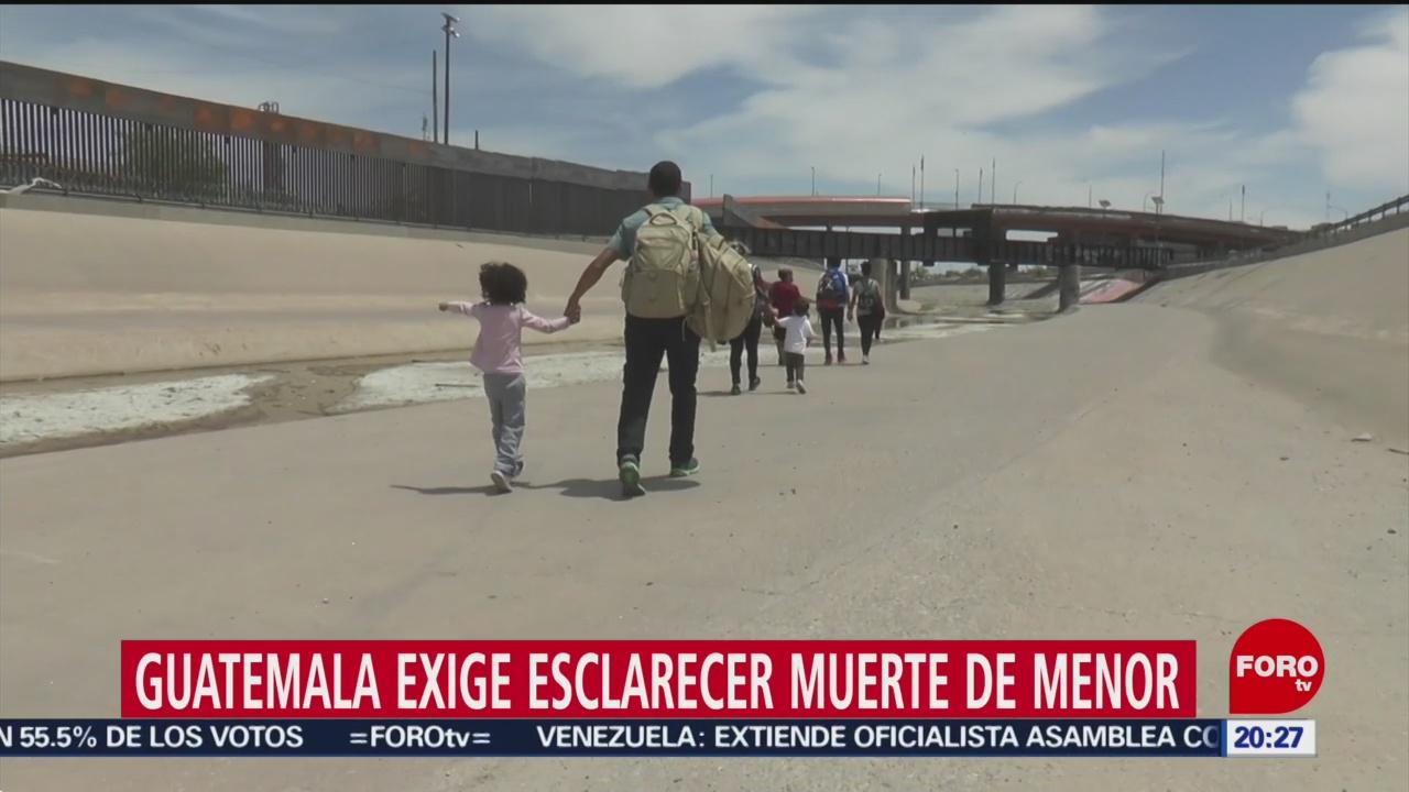 Foto: Guatemala Muerte Niños Migrantes Estados Unidos 20 Mayo 2019