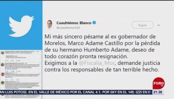 Foto: Matan Humberto Adame Hermano Exgobernador Morelos 16 de Mayo 2019