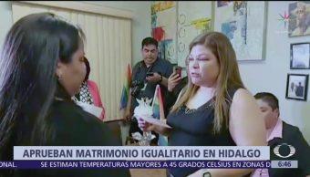 Hidalgo aprueba el matrimonio igualitario, como otras 15 entidades