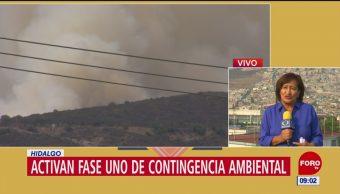 Hidalgo decreta contingencia ambiental