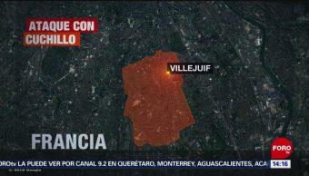 FOTO: Hombre ataca con cuchillo a dos personas en Francia, 19 MAYO 2019