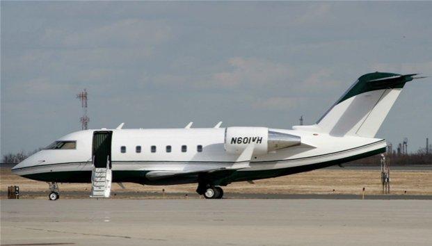 Imagen del avión desparecido, capturada en el aeropuerto Internacional de Toluca (Zócalo)