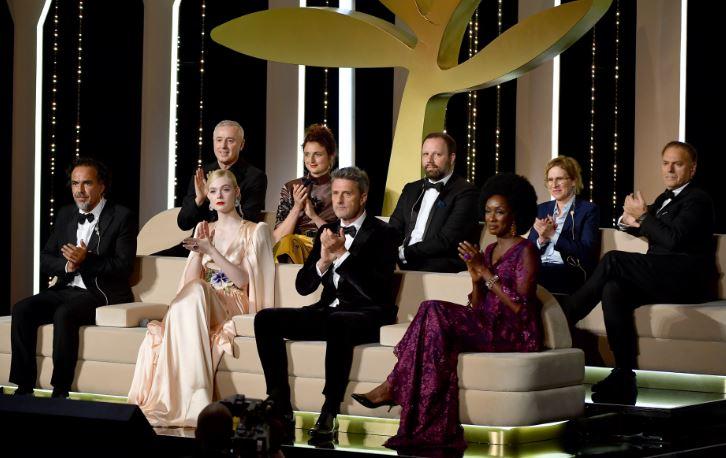 Foto: El jurado en el Festival de Cannes, 15 mayo 2019