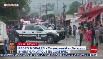 Investigan ataque armado con 5 muertos en Coatepec, Veracruz