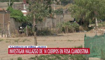 FOTO: Investigan hallazgo de 14 cuerpos en fosa clandestina en Jalisco, 19 MAYO 2019