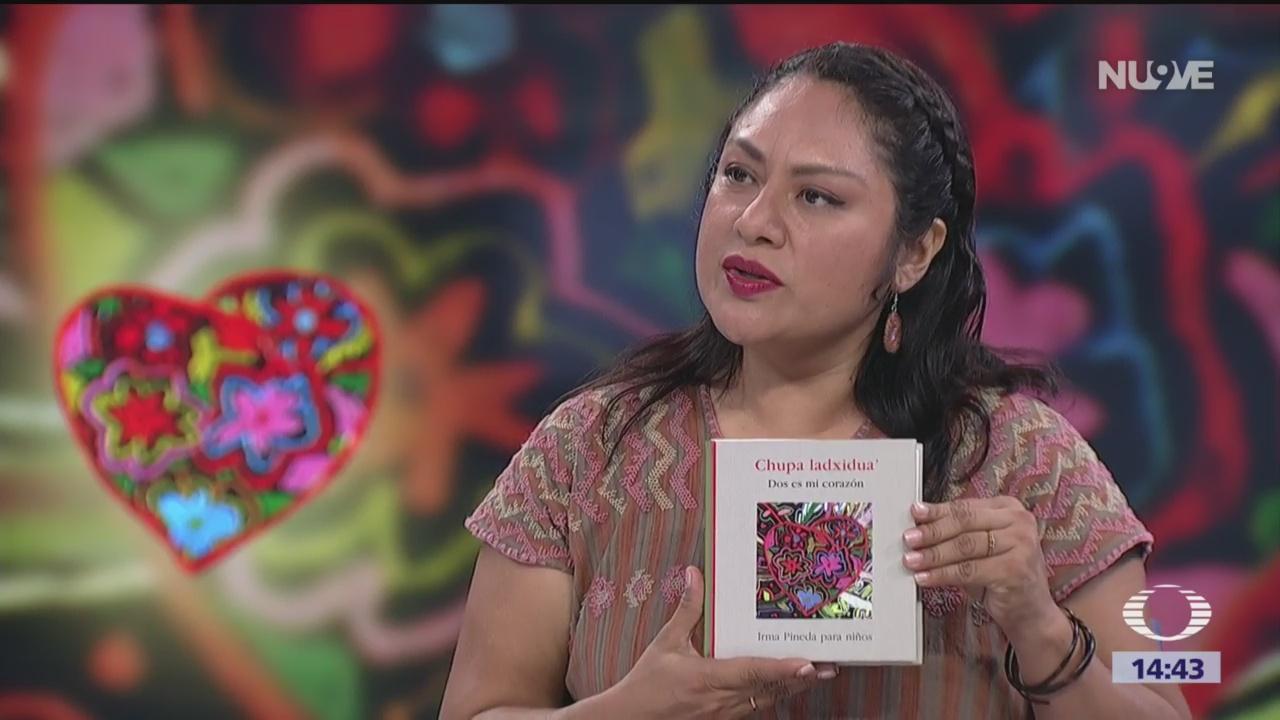 Foto: Irma Pineda presenta el libro 'Dos es mi corazón'
