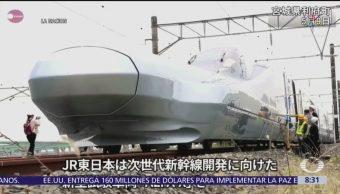 Japón probará el Alfa-X, un nuevo tren bala