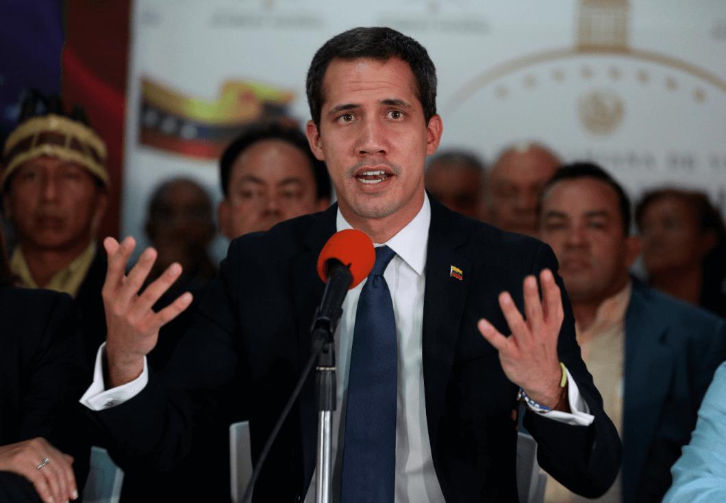 Foto: Juan Guaidó, autoproclamado presidente de Venezuela, 14 de mayo de 2019, Caracas