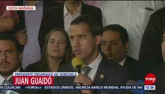 Juan Guaidó expresa condolencias por víctimas de protestas en Venezuela