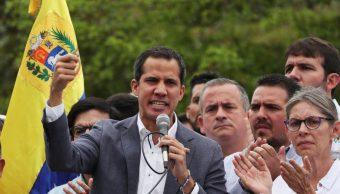 Foto: El líder opositor venezolano, Juan Guaido, asiste a un mitin en apoyo de la Asamblea Nacional de Venezuela en Caracas, Venezuela, 11 de mayo de 2019 (Reuters)