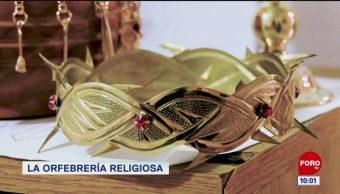 La orfebrería religiosa