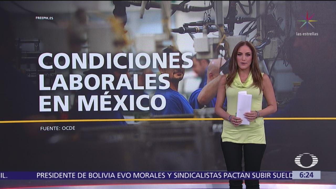 FOTO: Las condiciones laborales en México, 1 MAYO 2019