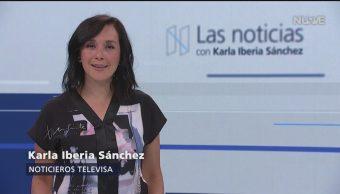 FOTO: Las Noticias, con Karla Iberia Programa del 1 de mayo del 2019, 1 MAYO 2019