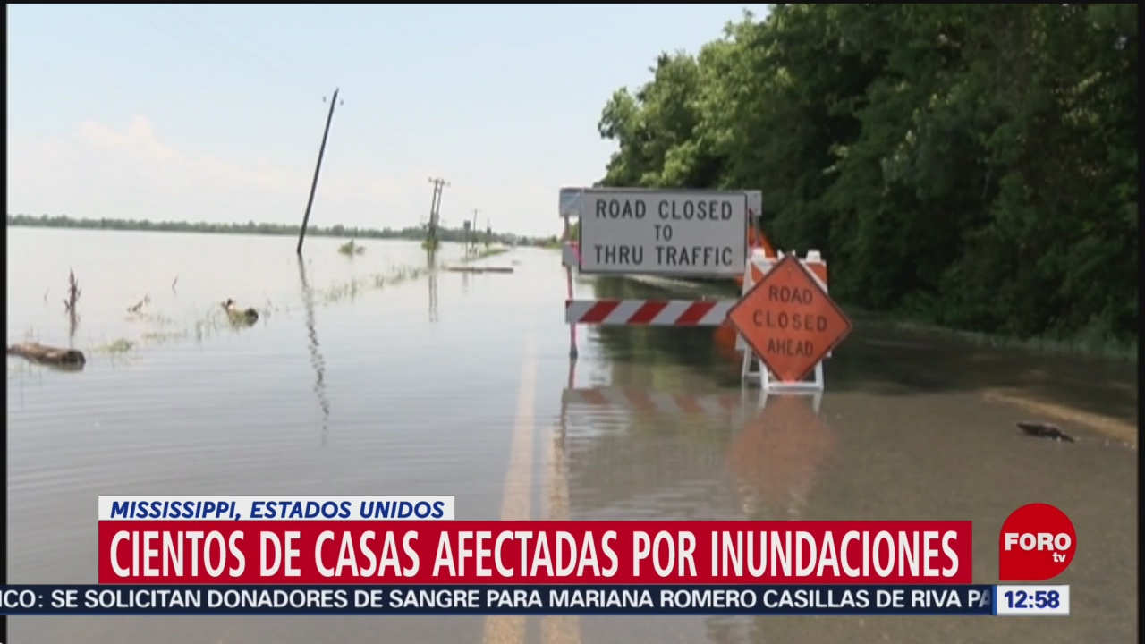Lluvias intensas afectan Oklahoma, en Estados Unidos