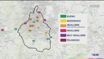 Foto: Lluvias Contaminación CDMX 17 Mayo 2019