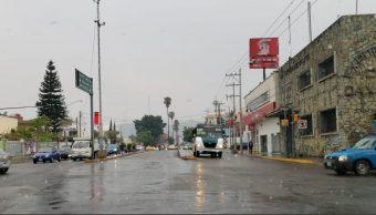 Foto: se registran fuertes lluvias en Oaxaca, 2 de mayo 2019. Twitter @RIVAC_OAX