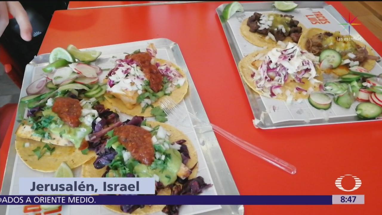 Los tacos mexicanos llegan a Jerusalén, en Israel