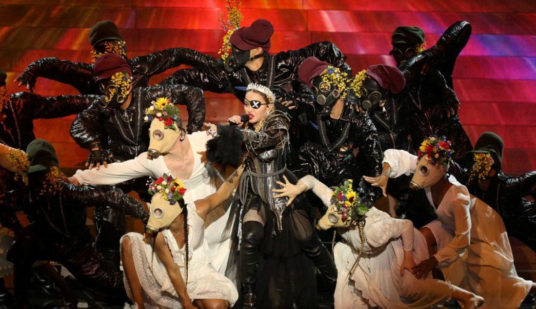 Foto: Madonna se presenta durante una aparición especial en la Gran Final del Festival de la Canción de Eurovisión 2019 en Tel Aviv, Israel, mayo 18 de 2019 (Reuters)