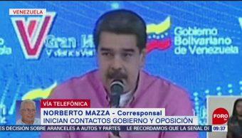 FOTO: Maduro confirma reuniones con la oposición venezolana en Noruega, 18 MAYO 2019