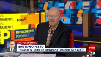 Magistrados tienen prohibido recibir prestaciones diferentes a su salario, dice Santiago Nieto