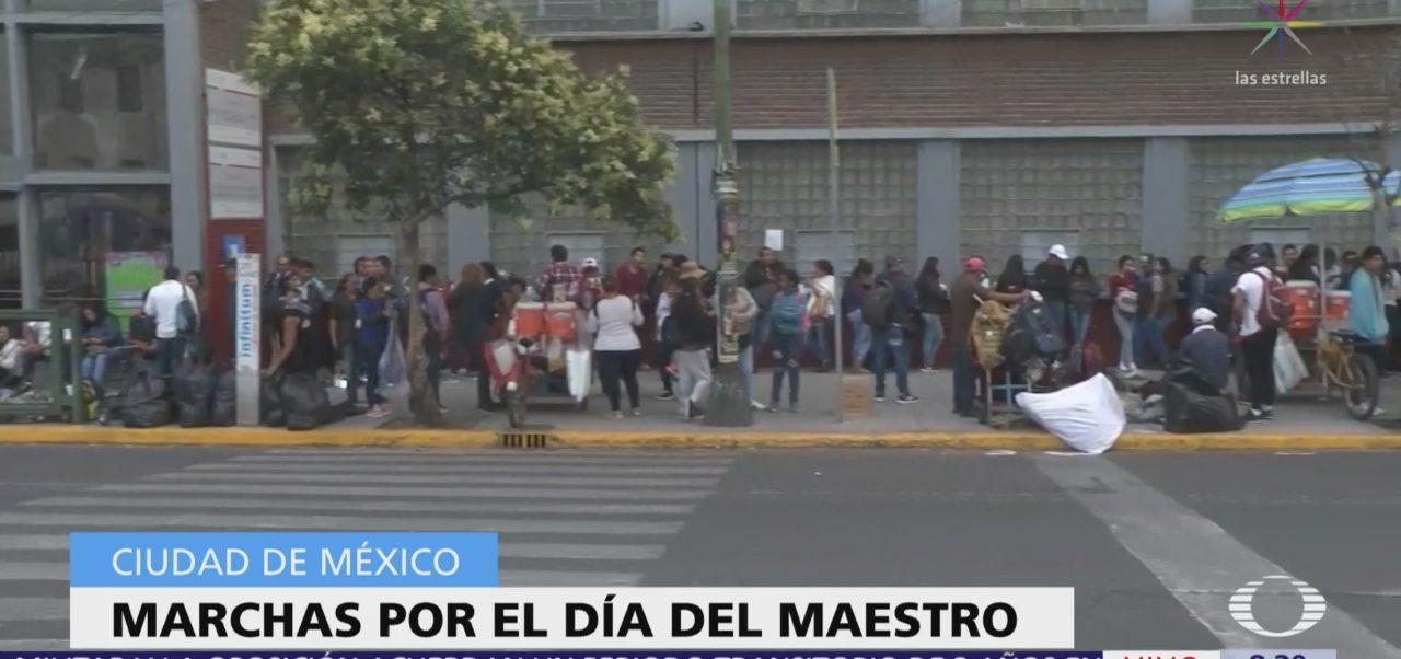 Manifestantes se concentran en Ribera San Cosme, CDMX