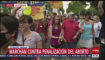 FOTO: Marcha contra penalización del aborto en Alabama, 19 MAYO 2019
