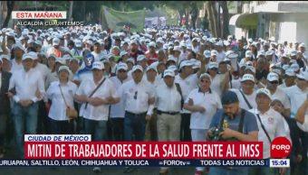 FOTO: Marchas por el Día del Trabajo en la CDMX, 1 MAYO 2019