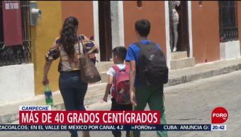 FOTO: Más de 40 grados centígrados en Campeche, 11 MAYO 2019