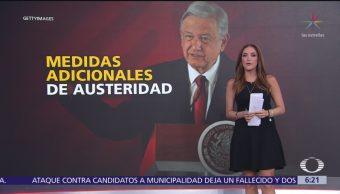 Medidas adicionales de austeridad para fortalecer a Pemex