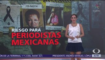 México, uno de los países más peligrosos para ejercer el periodismo