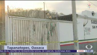 Migrantes pudieron usar colchonetas para incendio en Tapanatepec