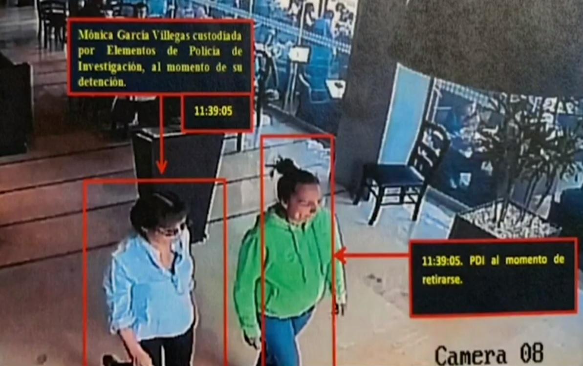 Difunden video de Mónica García Villegas, dueña del Rébsamen, en el momento de su detención