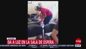 FOTO: Mujer da a luz en la sala de espera en Colima, 11 MAYO 2019